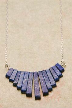 midnight art deco necklace | Lisa Leonard Designs