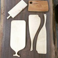 Wood trays