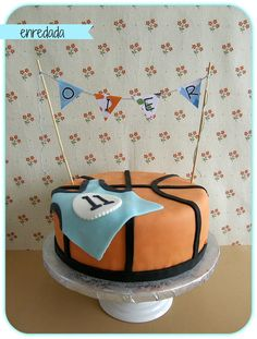 enredada en...: SWEET LAB: BASKET CAKE