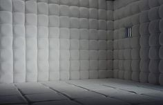 The padded cell in the Museum of Mental Health in Wakefield looks strangely alluring...
