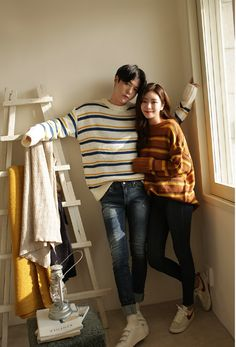 35 The Most Popular And Cute Couple Outfits of This Year - The Best Ideas 2020 Korean Fashion Trends, Korea Fashion, Asian Fashion, Fashion Ideas, Fashion Outfits, Women's Fashion, Fashion Tips, Matching Couple Outfits, Matching Couples