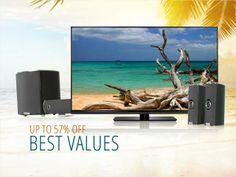 Vizio HDTVs & Soundbars, up to 57% OFF #NeweggFlash #Flashsale #Deals  http://www.neweggflash.com