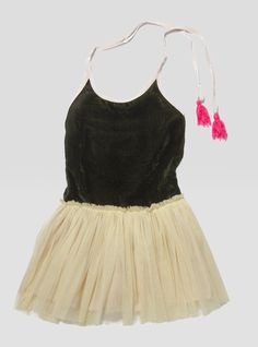Charlotte Velvet Tutu Dress – Land of Small