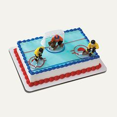 hockey cake #Hockey #cake #ahockeymomreviews