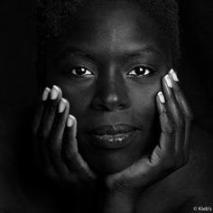 Portrait studio noir&blanc