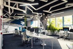Escritório da agência Game Studio 2o #arquitetura #corporativo.
