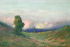 "Walter de Navazio, ""Paisaje"" óleo sobre tela, 70 x 105 cm."