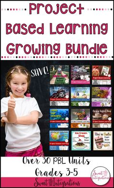 PROJECT BASED LEARNING ACTIVITIES: Huge Bundle of Math, Social Studies, Science - Use this resource to get 30 different PBL units you can use during the entire school year. You get freebies & a set of essential elements posters. Your 3rd, 4th, & 5th grade classroom or home school to incorporate 21st Century Skills with challenging, engaging, & creative activities. Great for differentiation & technology integration. #STEM {third, fourth, fifth} #Math #Science #SocialStudies Creative Activities, Learning Activities, Teaching Ideas, Motivational Factors, 5th Grade Classroom, 21st Century Skills, Reading Centers, Technology Integration, Back To School Activities