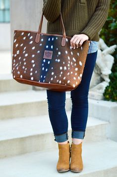 The Perfect Fall Bag | Fall Inspired Fashion | Fall Style Ideas | Accessories for Fall | Fall Bags and Purses || A Lonestar State of Southern