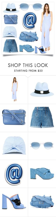 """""""Fashion for amazing"""" by denisee-denisee ❤ liked on Polyvore featuring Keepsake the Label, Eshvi, 10 Crosby Derek Lam, Tommy Hilfiger, Federica Moretti, Garrett Leight, Anya Hindmarch, Robert Clergerie, Rochas and Fendi"""