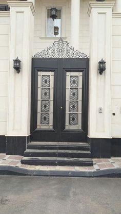 #saudiarabia #riyadh #doors #gates #design #cnc #lifestyle #modern #cadd #beautiful #metaldoor #lasercut #ابواب #idesigns Acadian Style Homes, Door Shades, Dining Area Design, Rustic Entryway, Entrance Gates, Iron Gates, Interior And Exterior, Doors, Architecture