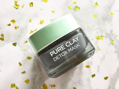 Loreal Pure Clay Detox Charcoal Mask #CharcoalMaskBeforeAndAfter #CleansingMask Diy Charcoal Mask, Charcoal Mask Benefits, Chocolate Face Mask, Honey Face Mask, Cleansing Mask, Skin Mask, Peel Off Mask, Skin Firming, Clay