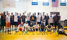 Suffield Alumni Play Basketball to Honor Dave Godin and Dennis Kinne