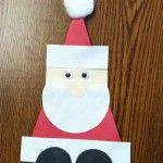 Geometric Santa craft
