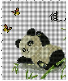Kreuzstich Cross Stitch Borders, Cross Stitch Animals, Cross Stitch Flowers, Counted Cross Stitch Patterns, Cross Stitch Charts, Cross Stitch Designs, Cross Stitching, Cross Stitch Embroidery, Embroidery Patterns