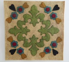 Outside Baltimore Wool Applique Pattern #8