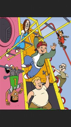 Recess!!! THE most awesome cartoon of my childhood. Ah, good times....