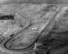 Riverside International Raceway, Riverside CA. was closed in1988 and sold to a mall developer.