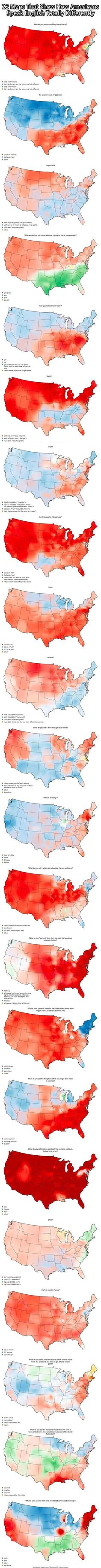Americans Speak English Totally Differently From Each Other…: