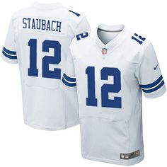 8d8fe86fb Men Dallas Cowboys  12 Roger Staubach Elite Jersey  Classic  EliteJersey   Cool