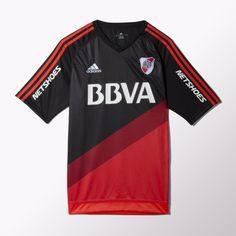 adidas Camiseta de Fútbol 3er Suplente River Plate 2015 - Negro | adidas Argentina