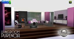 "SIMS 4 ""PURENCIA"" LIVING ROOM SET // [using in SJ story]"