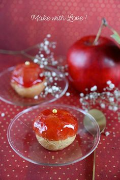 B comme Bon Eclairs, Biscuits, Panna Cotta, Cherry, Mousse, Sweet, Ethnic Recipes, Desserts, How To Make