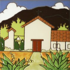 Historic Mission Collection- Mision Soledad - Mexican Tile Designs