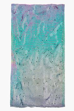 MAISON MARTIN MARGIELA Multicolor Iridescent Chainmail Infinity Scarf