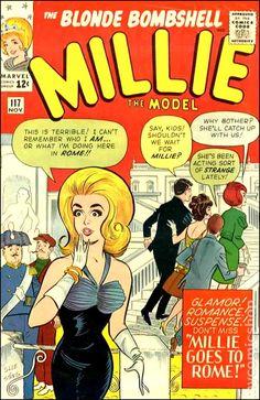 Millie the Model comic