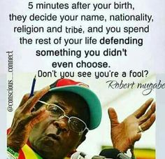 Isaiah ye shall leave your name for a curse unto my chosen: for the Lord GOD shall slay thee, and call his servants by another name: Mugabe Quotes, Funny Quotes, Life Quotes, African American History, History Facts, Girls Be Like, Deep Thoughts, Black History, In This World