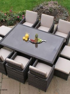 Find This Pin And More On Rattan Garden Dining Sets.
