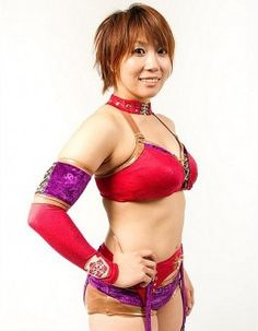 Kana, now known as Asuka in WWE NXT