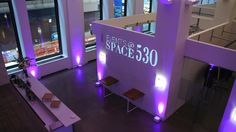 Event Space, Conference Center in New York, New York: Events at Space 530 is a modern, full-service Fashion District event venue that features soaring ceilings, large windows and a ...