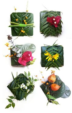 Garden Wrapping Paper
