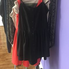 black dress from Nordstrom Worn a couple times but in normal condition, short, romper-dress type, good for school or any time going out. BP Nordstroms Dresses