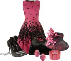 """At the Derby"" by mssgibbs ❤ liked on Polyvore"