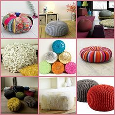 ★ How To Make Bean Bags, Pillow Chairs & Floor Cushions | Sew Your Own Furniture | Craft Tutorials ★
