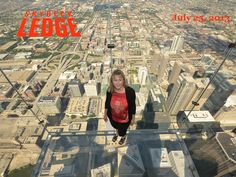 The Chicago Skydeck at the Wills Tower is the eighth-tallest building in the world; it remains the tallest building in the Western Hemisphere, standing 1,450 feet and 110 stories tall.