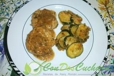 ConDosCucharas.com Filetes de carne picada - ConDosCucharas.com Carne Picada, Albondigas, Zucchini, Vegetables, Food, Beef Steaks, Pork, Summer Squash, Meal