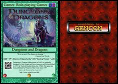 #107: Games: RPG: Dungeons and Dragons