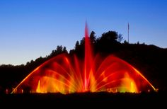 The Grand Haven Musical Fountain - Grand Haven, Michigan