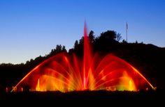 The Grand Haven Musical Fountain - Grand Haven, Michigan