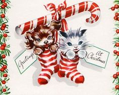 Christmas candy cane cuties