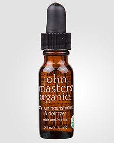 John Masters Organics Питательное средство для увлажнения и выпрямления сухих и вьющихся волос с секущимися кончиками Dry Hair Nourishment & Defrizzer. 15 мл.
