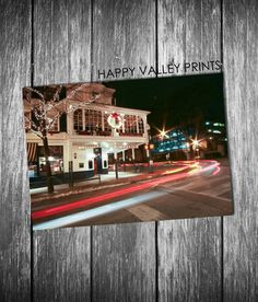 Fine art photography print of The Corner Room, Penn State University - by Happy Valley Prints, $25.00