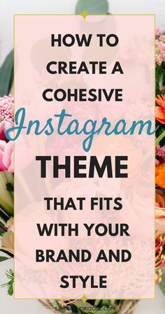 How to plan, manage and curate a stunning and that is cohesive with your brand and style.I have heard way too many times from my audience is that they cannot wrap their heads around how to create a cohesive theme for their Instagra Social Media Trends, Social Media Plattformen, Social Media Marketing, Business Marketing, Business Branding, Instagram Marketing Tips, Instagram Advertising, Marketing Quotes, Marketing Ideas