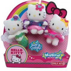 Hello Kitty Magical Mini Plush Dolls