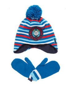 View details of Thomas The Tank Engine Hat and Mittens