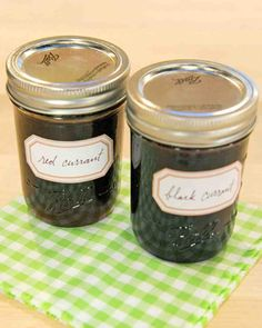 """Red Currant Jam - Preserve fresh red currants with this tangy jam recipe from """"Mes Confitures: The Jams and Jellies of Christine Ferber."""""""